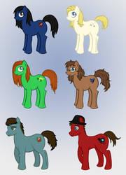 My Little Pony: Nerd Herd by Jarjarrr