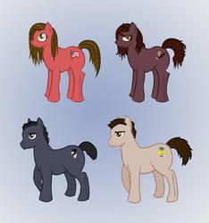 My Little Pony: Friends by Jarjarrr