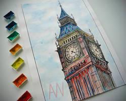 Big Ben (Photo version) by Andrew-Willson