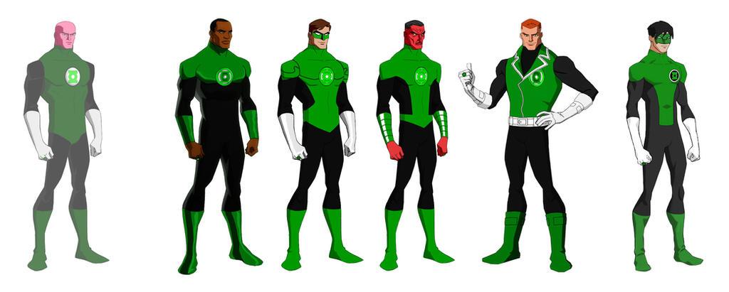 Green Lantern Corps P.Bourassa Jerome K Moore by Majinlordx