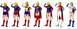 Super Girl / Power Girl, Young Justice Style