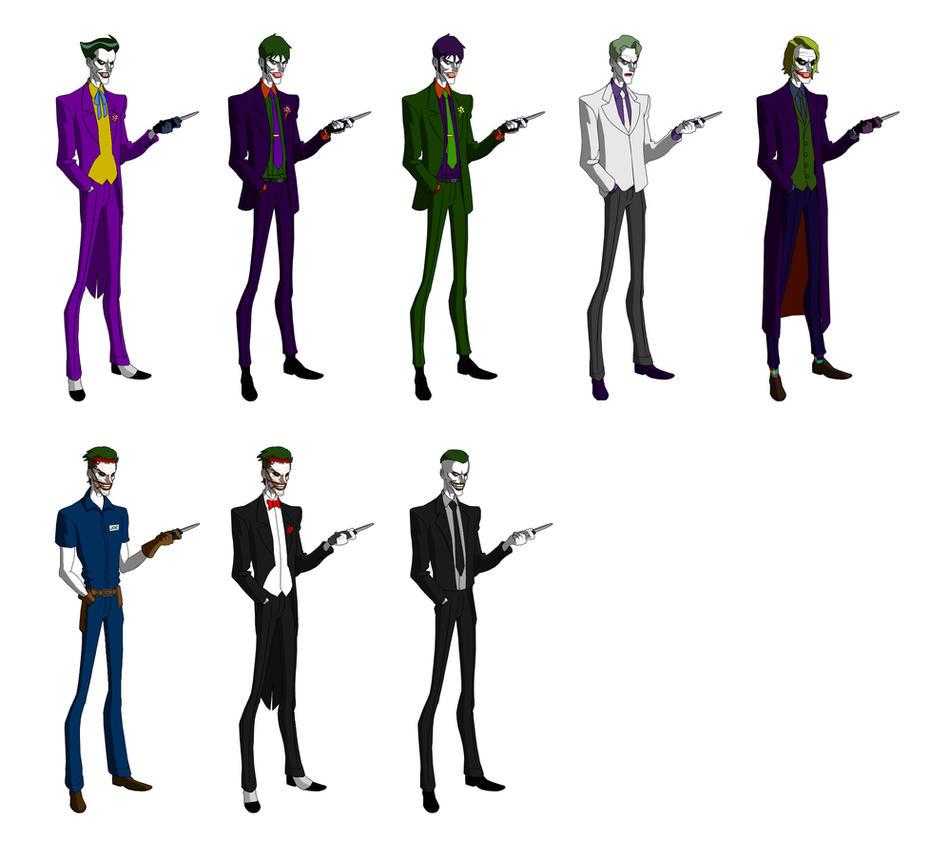 Jokers by majinlordx on deviantart