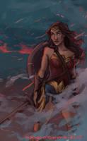 Wonder Woman by mangomomm