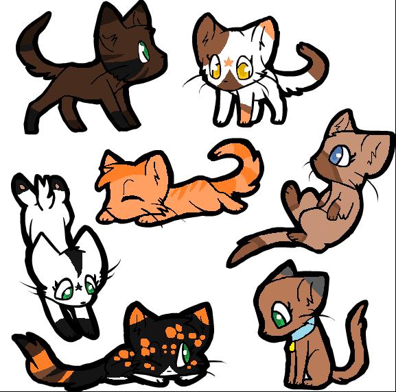 Chibi warning! (warrior cats) by Idulilu on DeviantArt  Warrior Cat Chibi