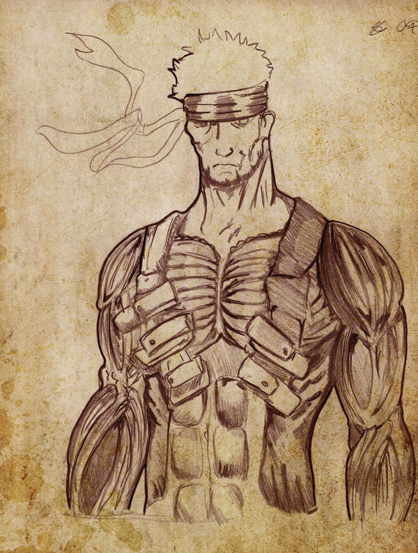 Muscle Solid Snake By Rainkash On Deviantart