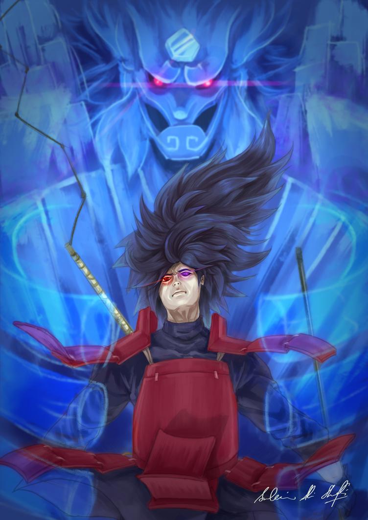 Naruto: Madara Uchiha Susanoo by Frostbite194