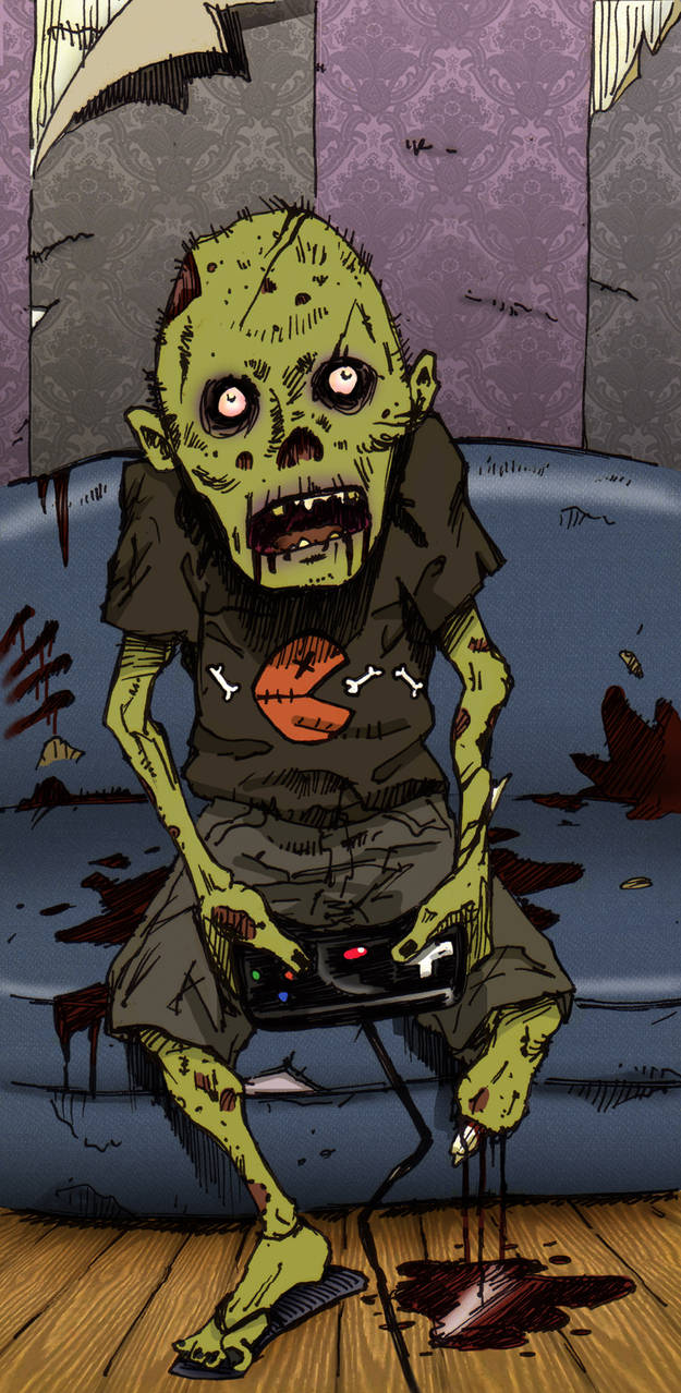 zombie by Entropician
