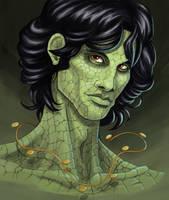 lizard king (jim) by Entropician