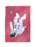 astronaut (I lost my way) by Entropician