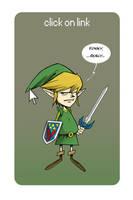 Link (Zelda's saga) by Entropician