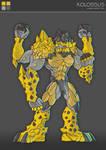 Gormiti character design 1