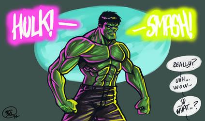Hulk smash! by Entropician