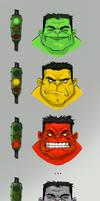 Hulk, the truth behind.....