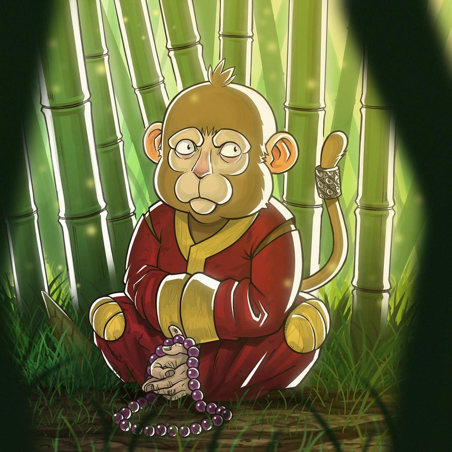 Monk-ey! by Entropician