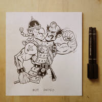 Inktober2017 day29 united by Entropician