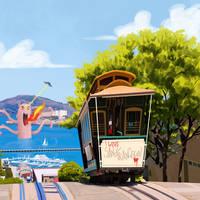 I love San Francisco by Entropician