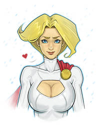Powergirl by Entropician