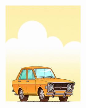 Fiat 128 toon