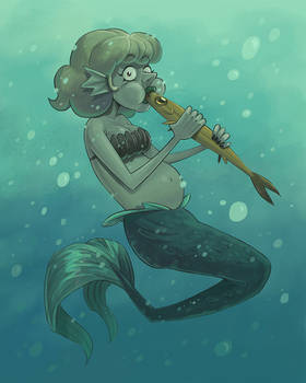 Munching Mermaid