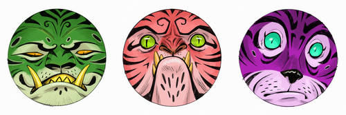 TIGER MOODS (2of3)