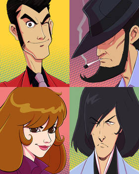 Lupin the Third - Monkey punch tribute