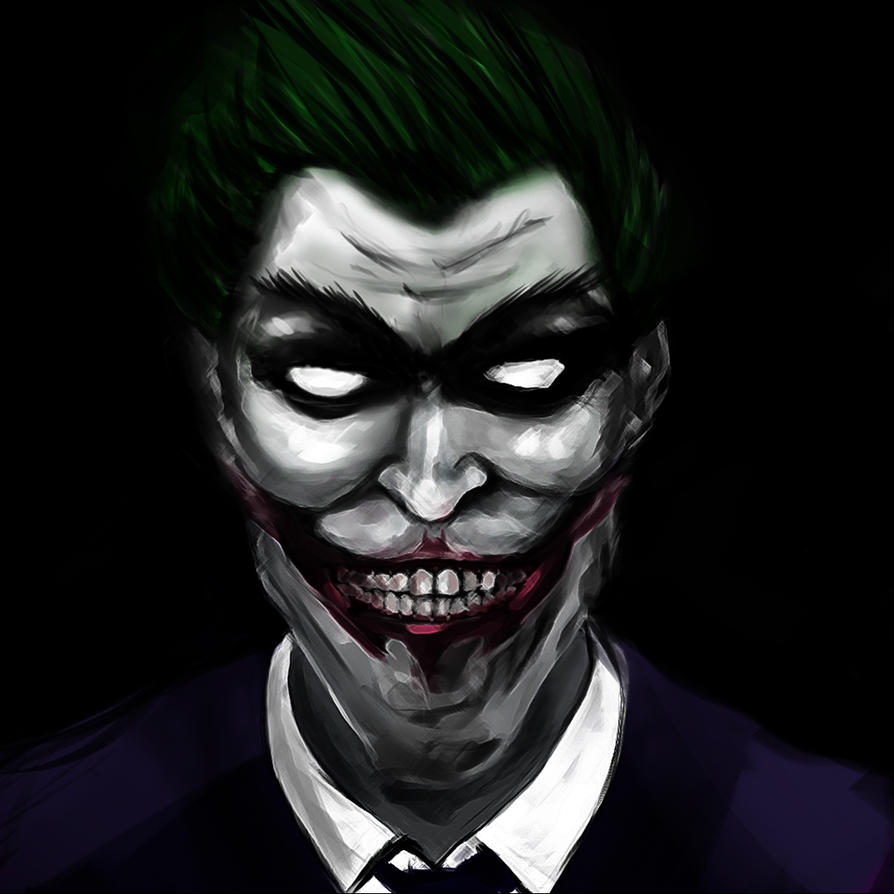Joker by cclownart