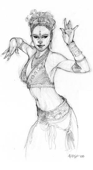 Dancer Pose 4