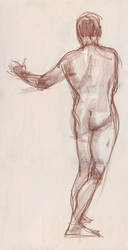 Life Drawing 3 by ChristineAltese