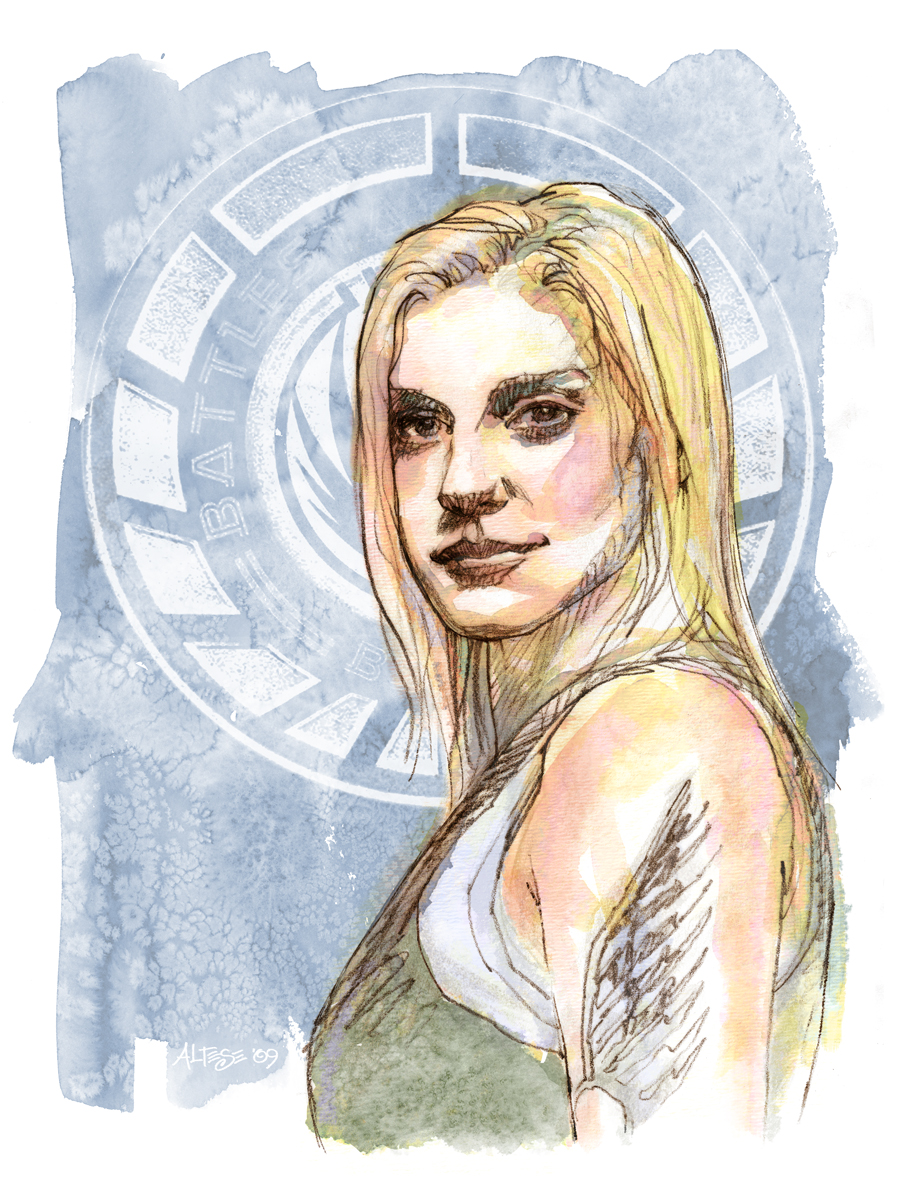 BSG Starbuck by ChristineAltese
