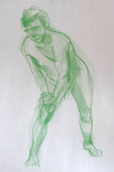 Life Drawing Feb2 by ChristineAltese