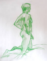 Life Drawing Feb3 by ChristineAltese