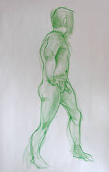 Life Drawing Feb4 by ChristineAltese