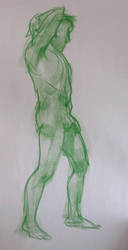 Life Drawing Feb6 by ChristineAltese