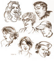 Facebook Faces by ChristineAltese
