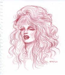 Jasinya Portrait by ChristineAltese