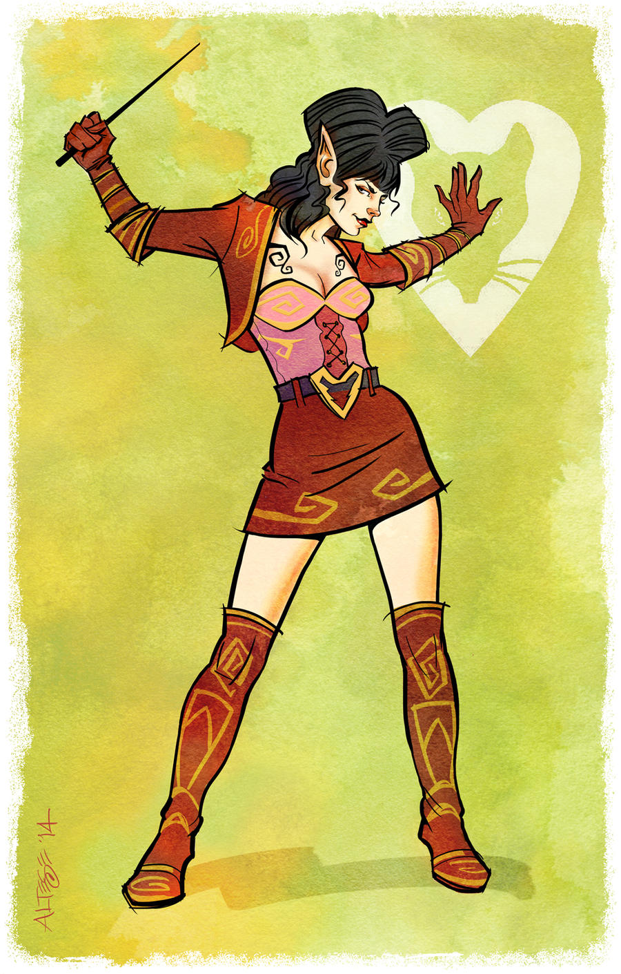Rat Queens * Hannah by ChristineAltese