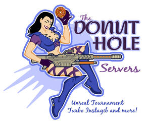 DonutHole Servers Graphic by ChristineAltese