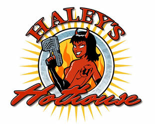 Haley's Hothouse Logo by ChristineAltese