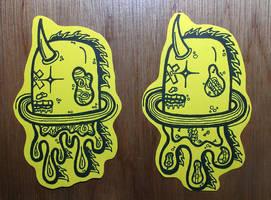 Graffiti Stickers #13 - New Characters by TNH-Ed-Hill