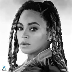 Portrait Beyonce Knowles