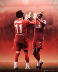 Salah and Mane, Liverpool