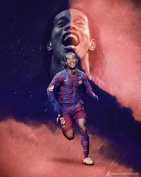 Ronaldinho, FC Barcelone