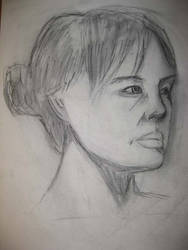 Second Week Female Portrait 01