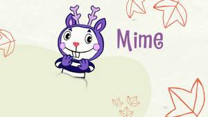 Mime creeps face