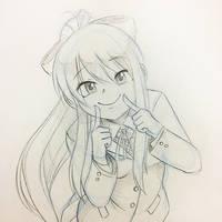 Character Poll #106: Monika by kaiyuan