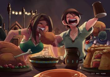 Patreon: Banquet by kaiyuan