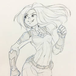 Character Poll #165: Captain Marvel by kaiyuan
