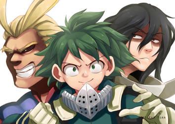 Boku No Hero Academia: Trio by kaiyuan