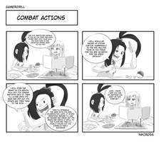 GamerGrill: Combat Actions