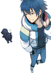 DRAMAtical Murder Render - Aoba Seragaki and Ren